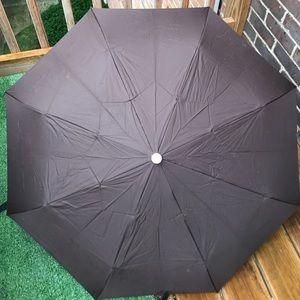 Longchamp Umbrella Small Brown With Sleeve EUC